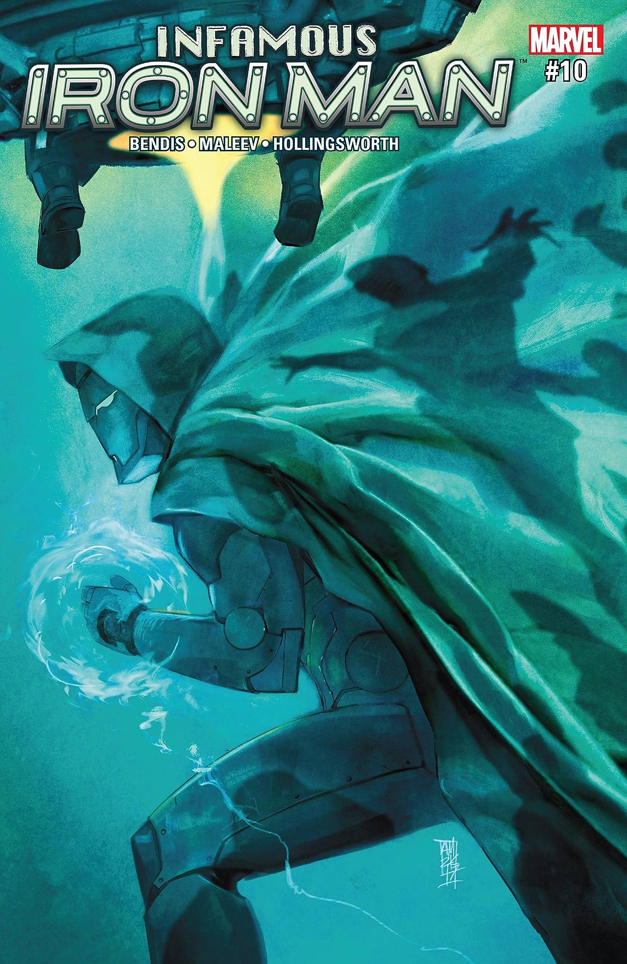 Infamous Iron Man (2016-2017) #10