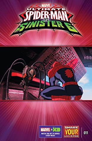Marvel Universe Ultimate Spider-Man vs. The Sinister Six (2016-) #11