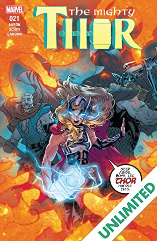 The Mighty Thor (2015-2018) #21
