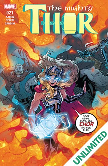The Mighty Thor (2015-) #21