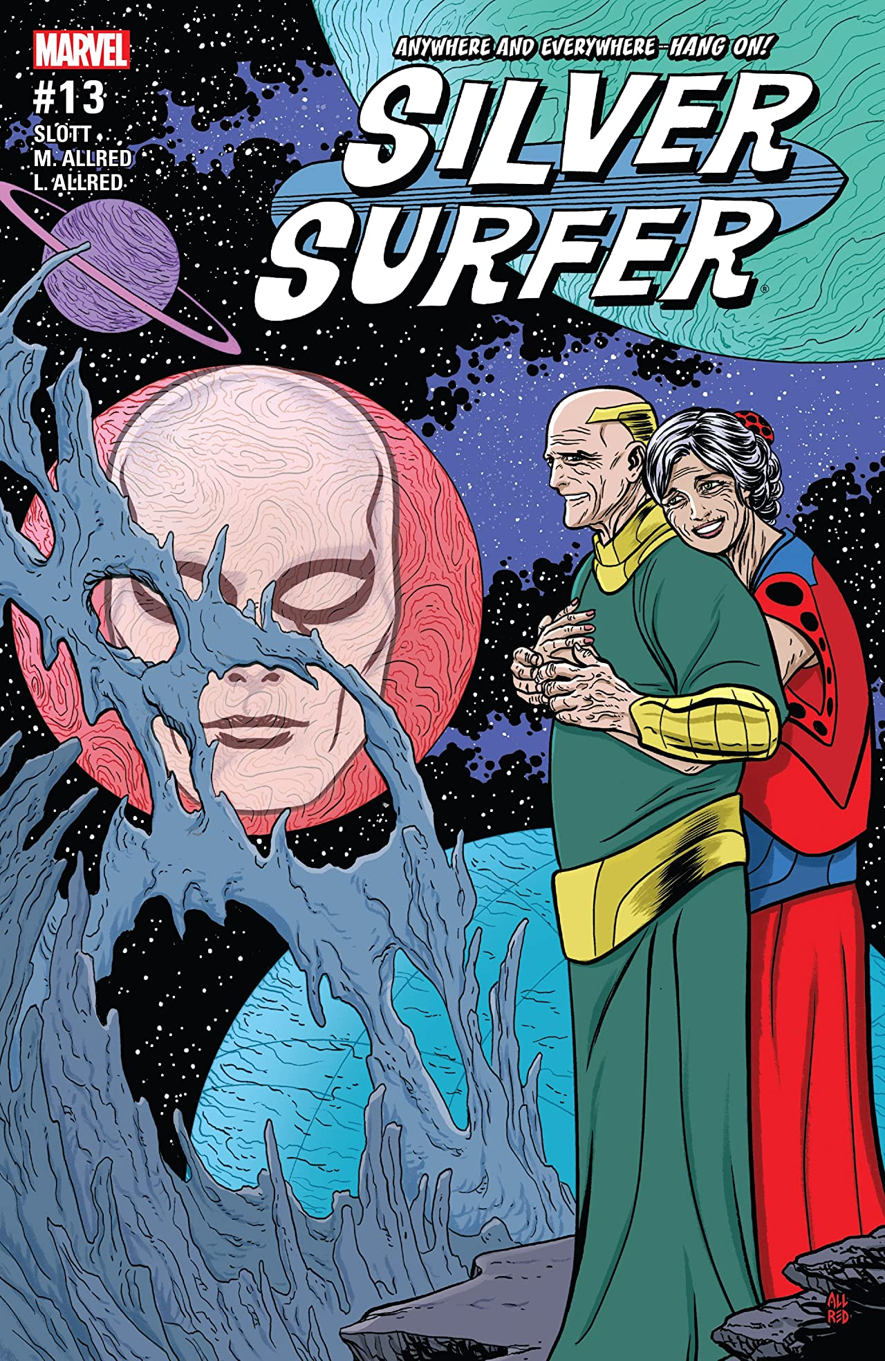 Silver Surfer (2016-2017) #13