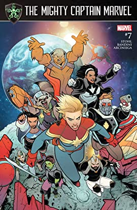 The Mighty Captain Marvel (2016-2017) #7