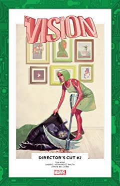 Vision: Director's Cut (2017) #2 (of 6)