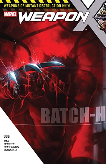 Weapon X (2017-2018) #6