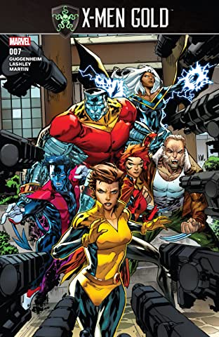 X-Men Gold (2017-) No.7