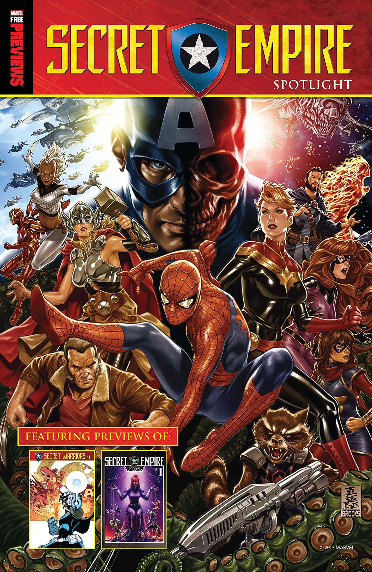 Secret Empire Free Previews Spotlight #1