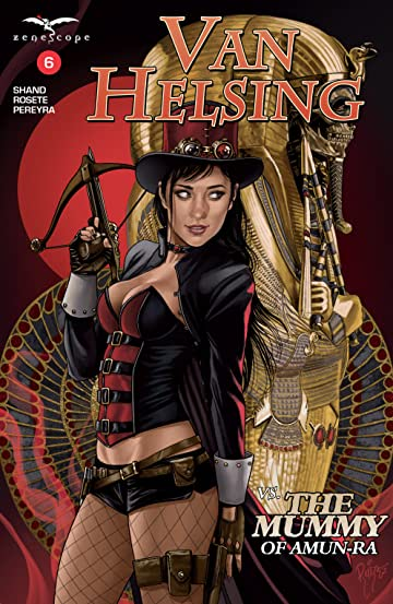 Van Helsing vs. The Mummy of Amun-Ra #6