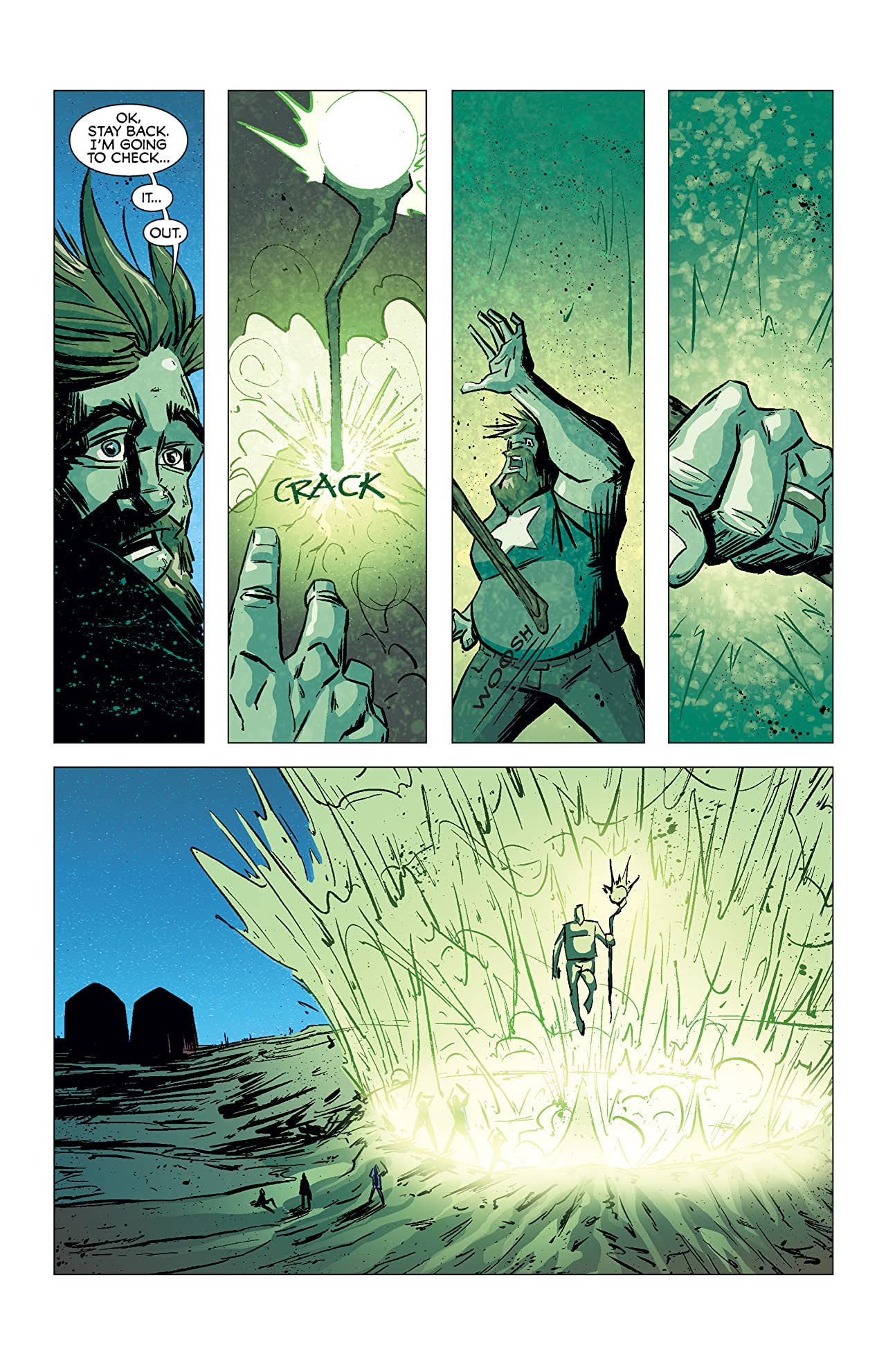 Adventures of Auroraman #0