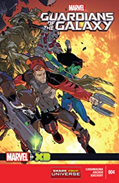 Marvel Universe Guardians of the Galaxy (2015) #4 (of 4)