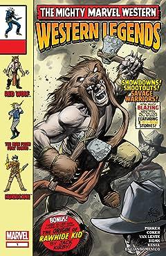 Marvel Westerns: Western Legends (2006) No.1