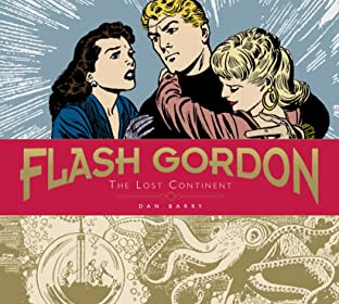 Flash Gordon: Dan Barry Vol. 2: The Lost Continent