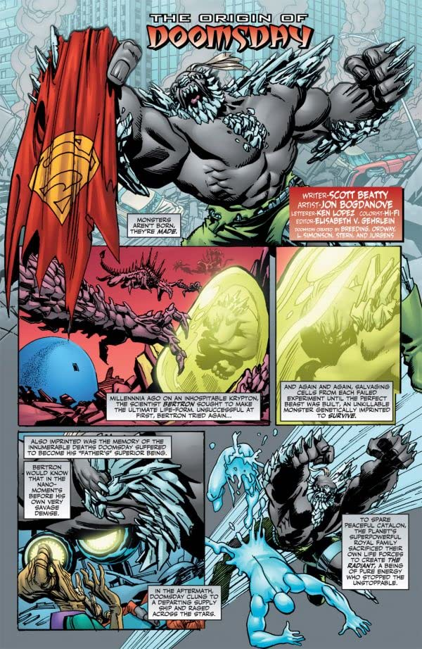The Origin of Doomsday #1