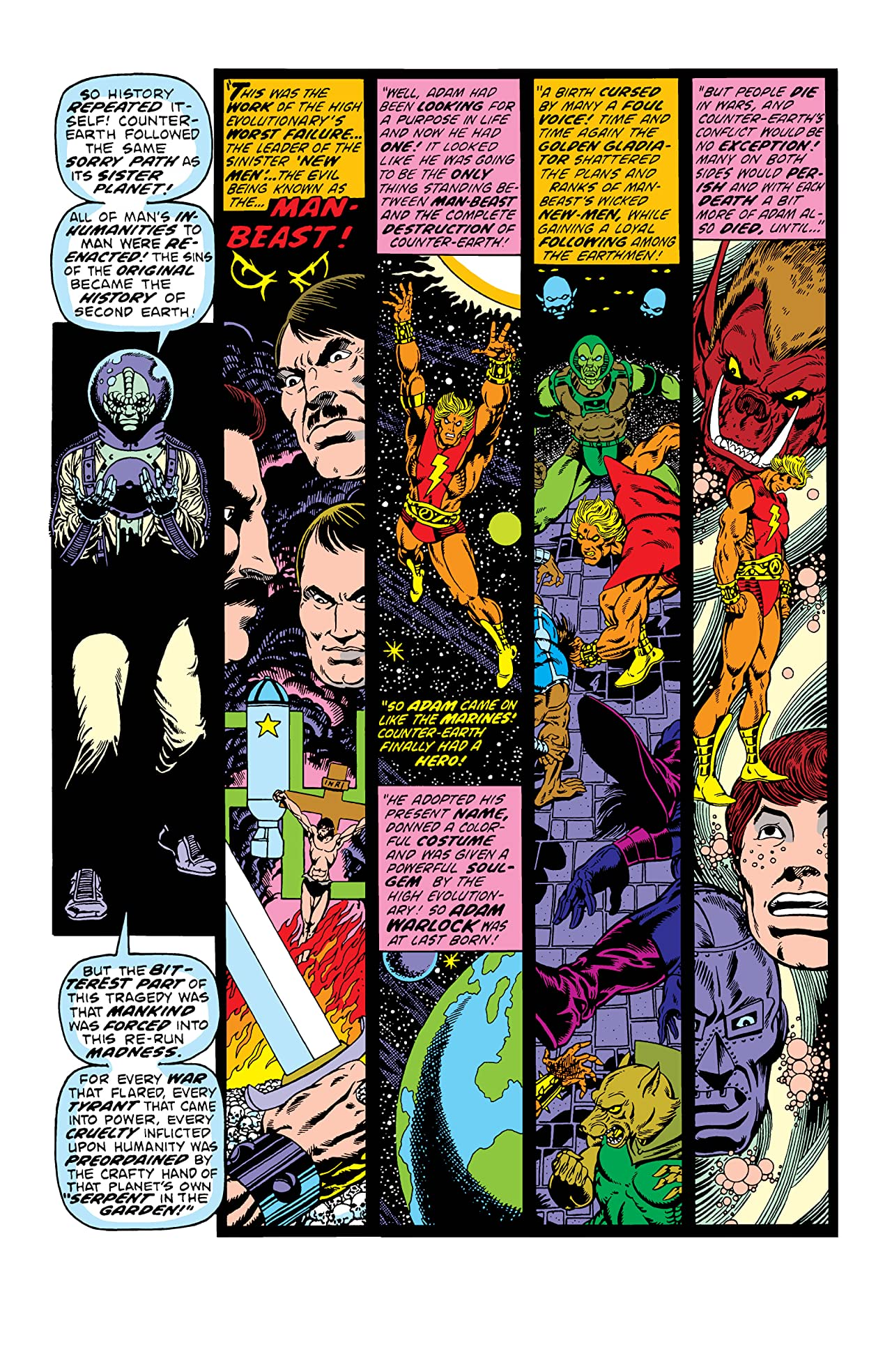 Warlock by Jim Starlin: The Complete Collection