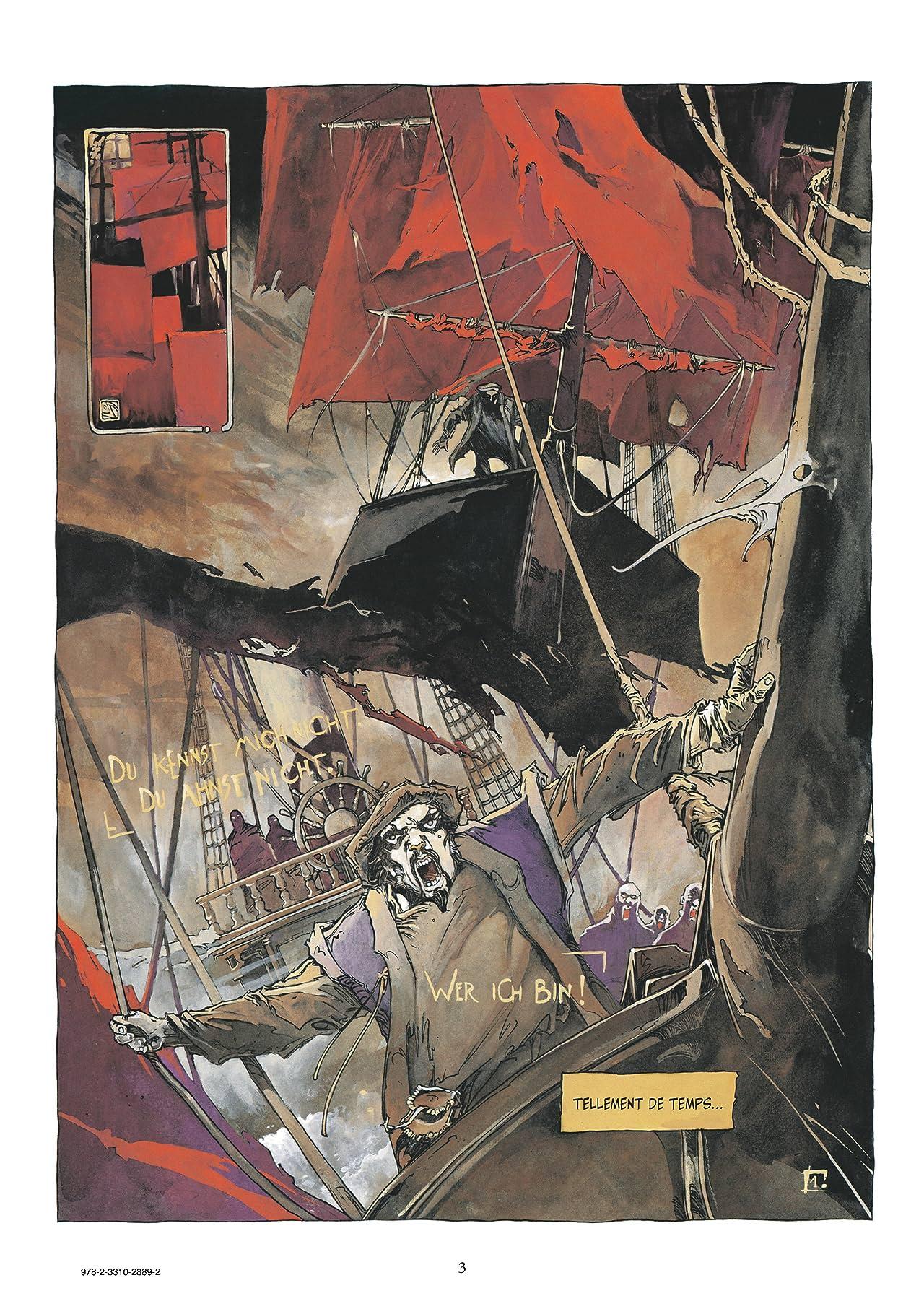 L'Île des morts Vol. 4: Perinde ac cadaver