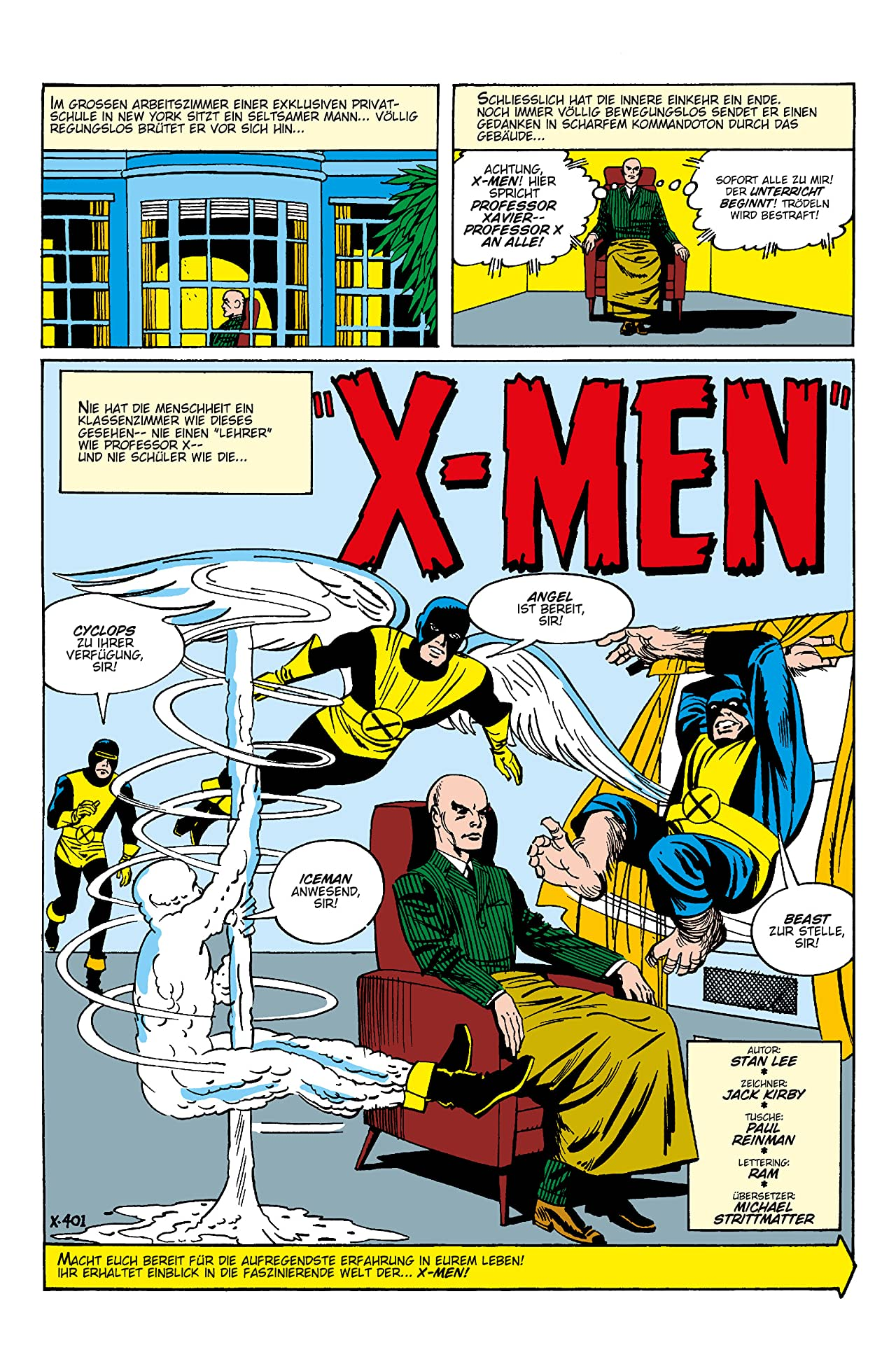 Marvel Klassiker: X-Men Vol. 1
