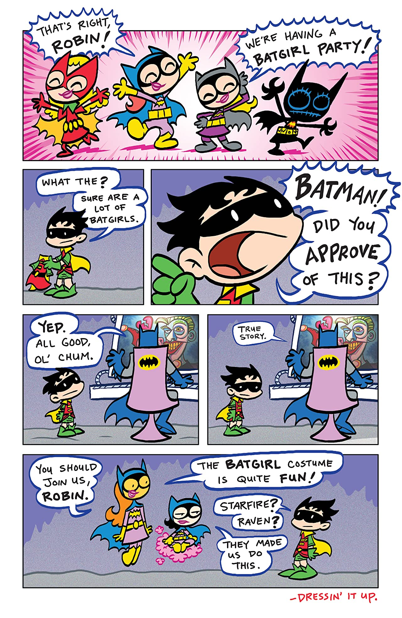 Tiny Titans Vol. 8: Aw Yeah Titans!
