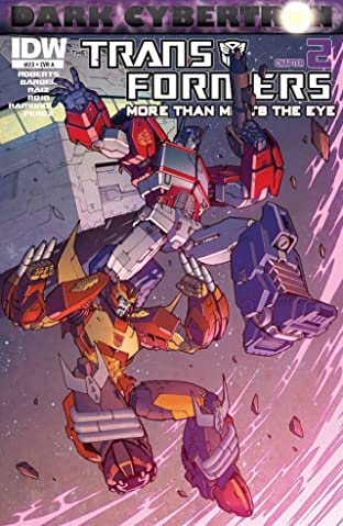 Transformers: More Than Meets the Eye (2011-) #23: Dark Cybertron Part 2