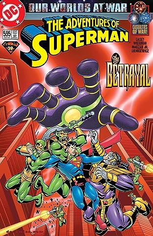 Adventures of Superman (1986-2006) #595