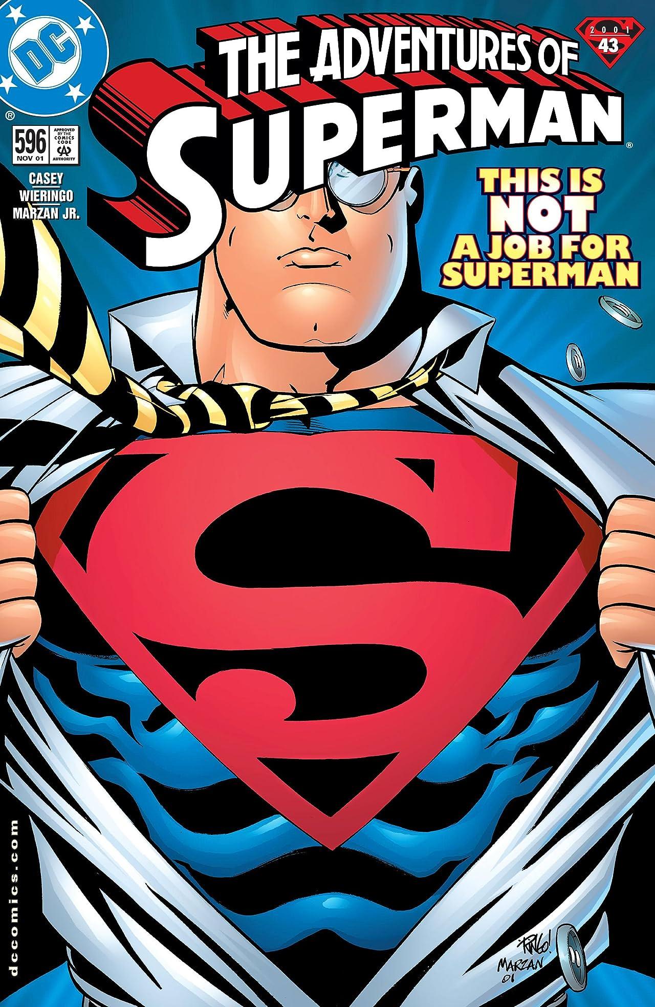 Adventures of Superman (1986-2006) #596