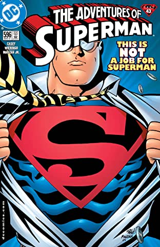 Adventures of Superman (1986-2006) #596