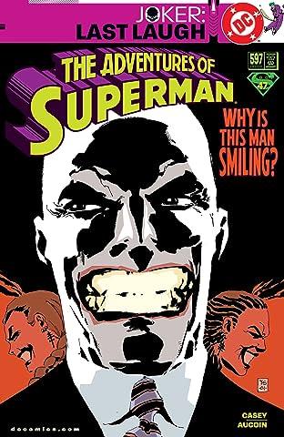 Adventures of Superman (1986-2006) #597