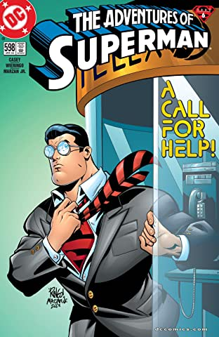 Adventures of Superman (1986-2006) #598