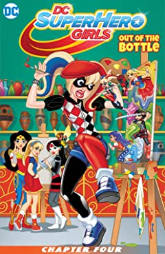 DC Super Hero Girls: Out of the Bottle (2017) #4