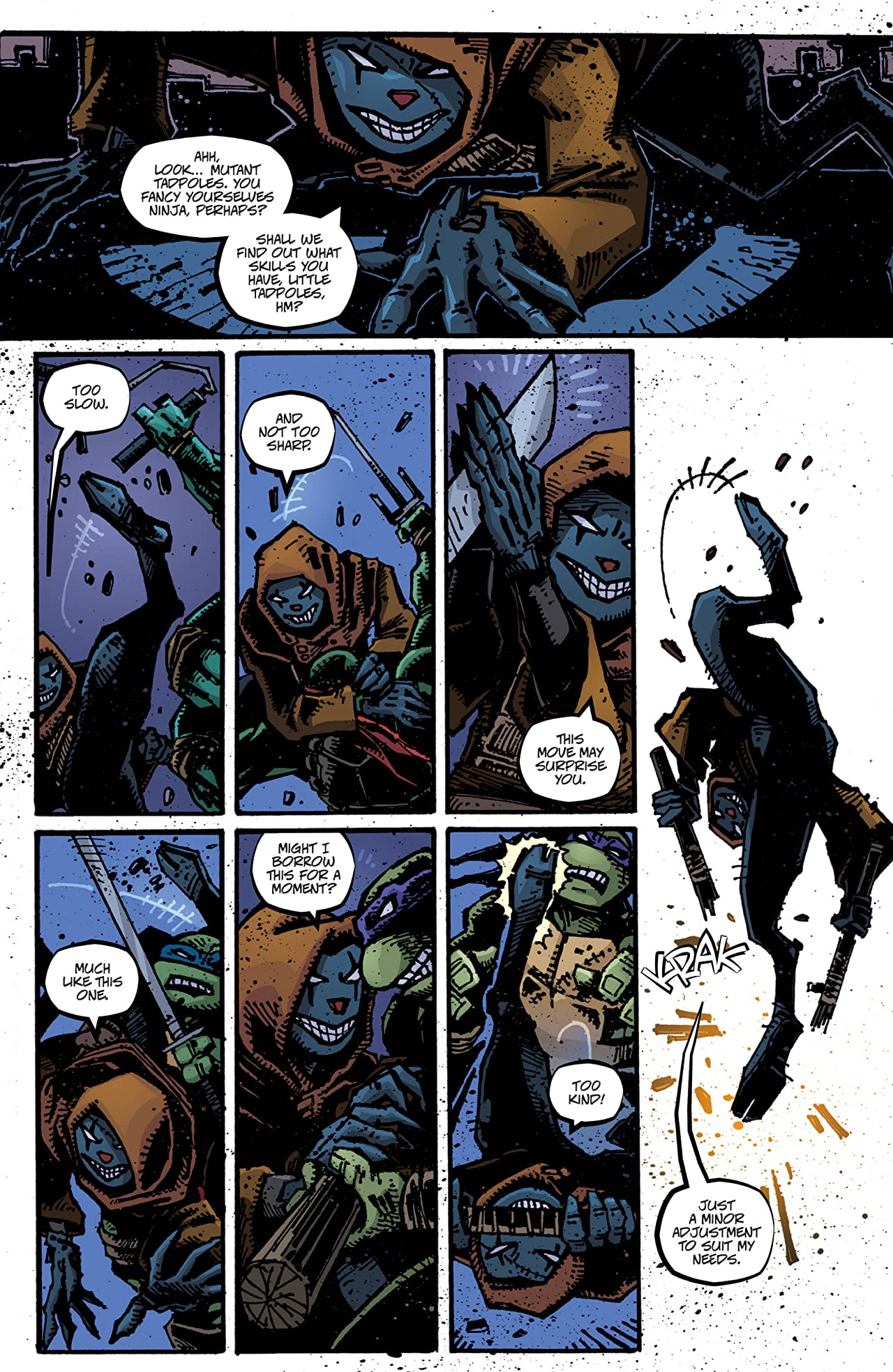 Teenage Mutant Ninja Turtles Vol. 6: City Fall, Part 1