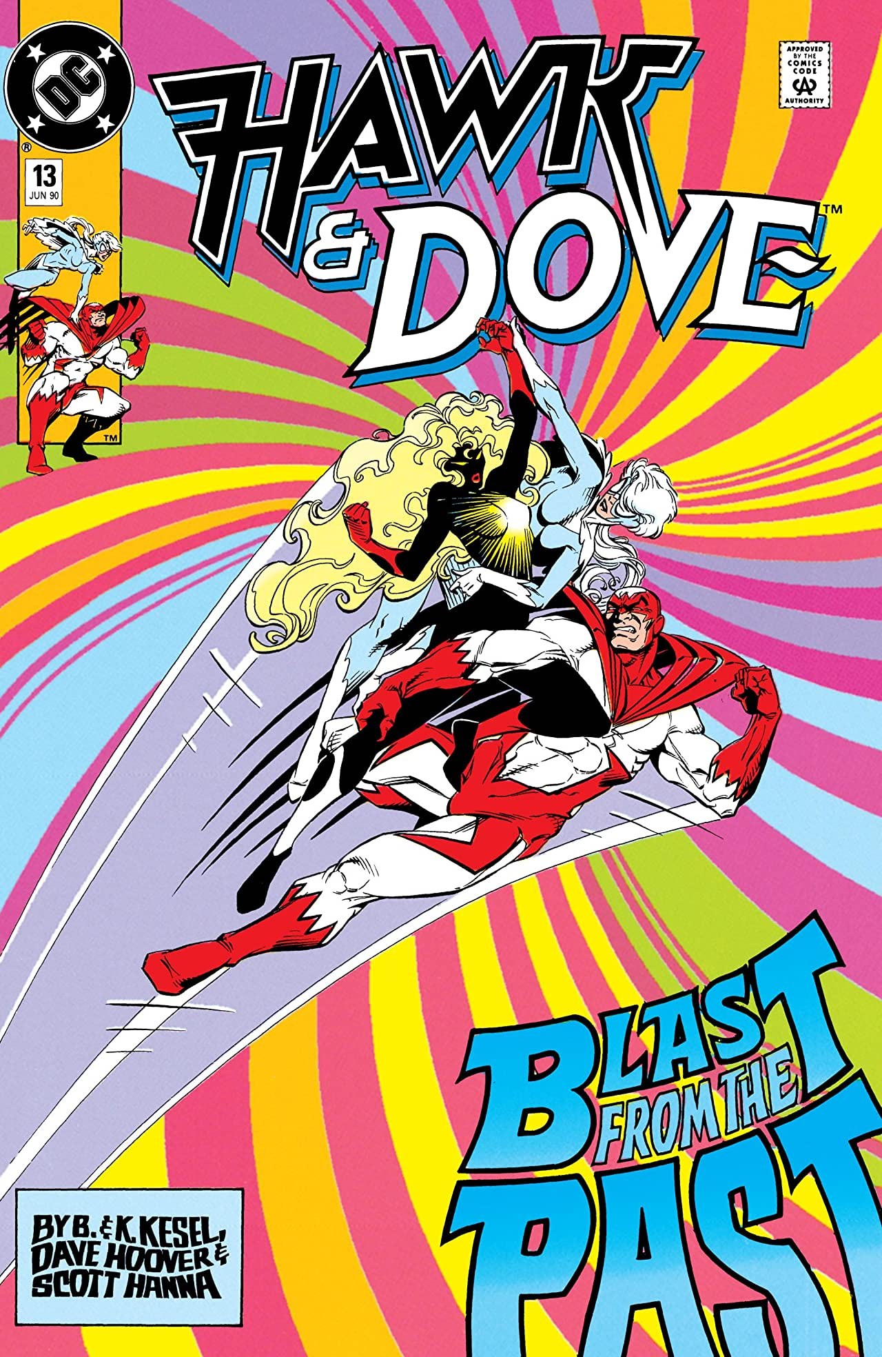 Hawk and Dove (1989-1991) #13