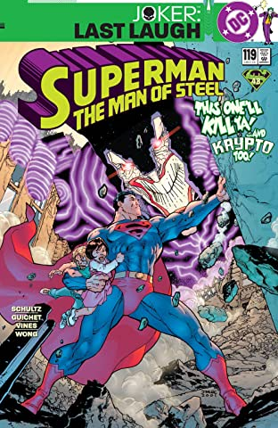Superman: The Man of Steel (1991-2003) #119
