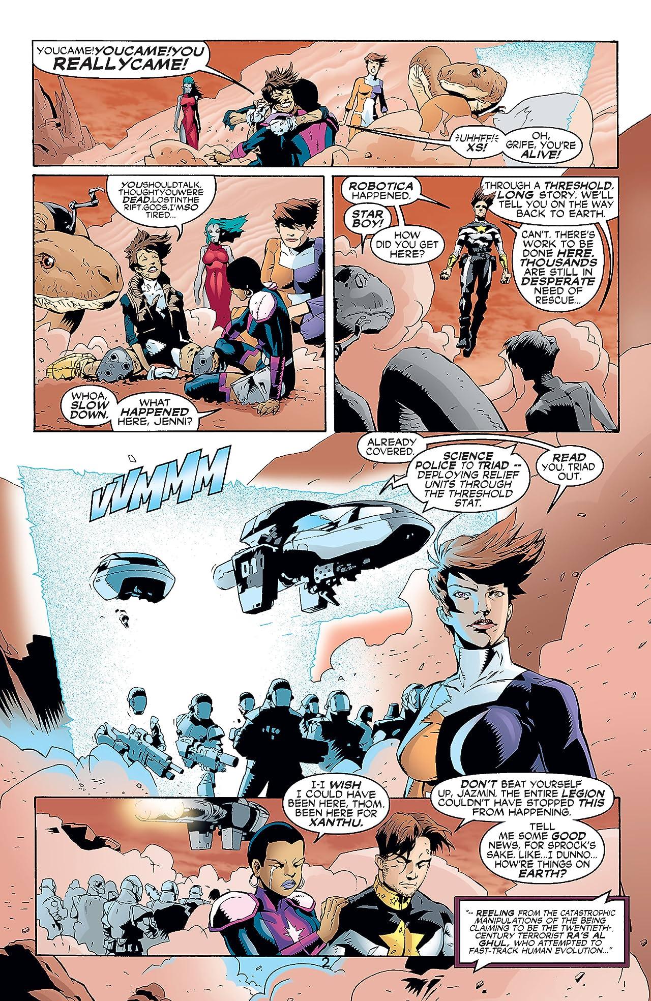 The Legion (2001-2004) #10