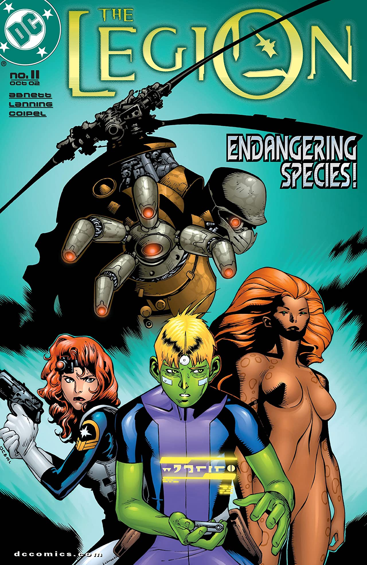 The Legion (2001-2004) #11