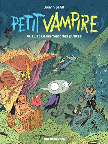 Petit Vampire Vol. 1: Le serment des pirates