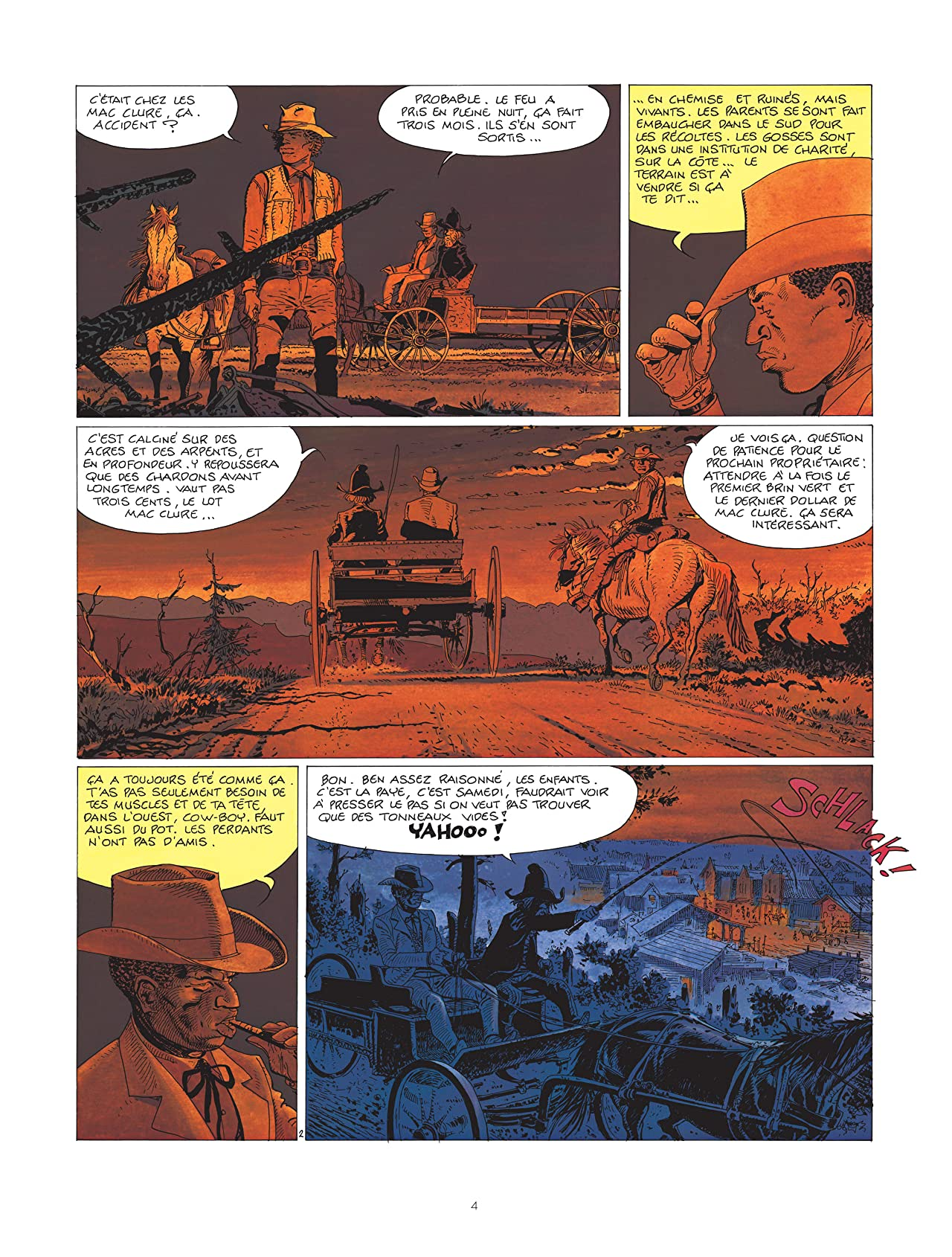 Comanche Vol. 9: Et le diable hurla de joie...