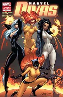 Marvel Divas (2009) #1 (of 4)