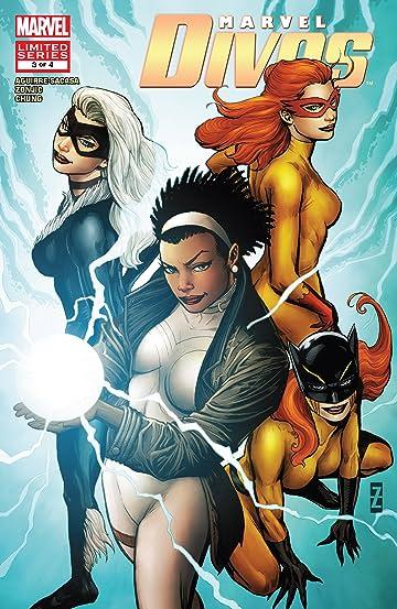 Marvel Divas (2009) No.3 (sur 4)