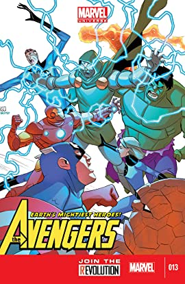 Marvel Universe Avengers: Earth's Mightiest Heroes (2012-2013) #13