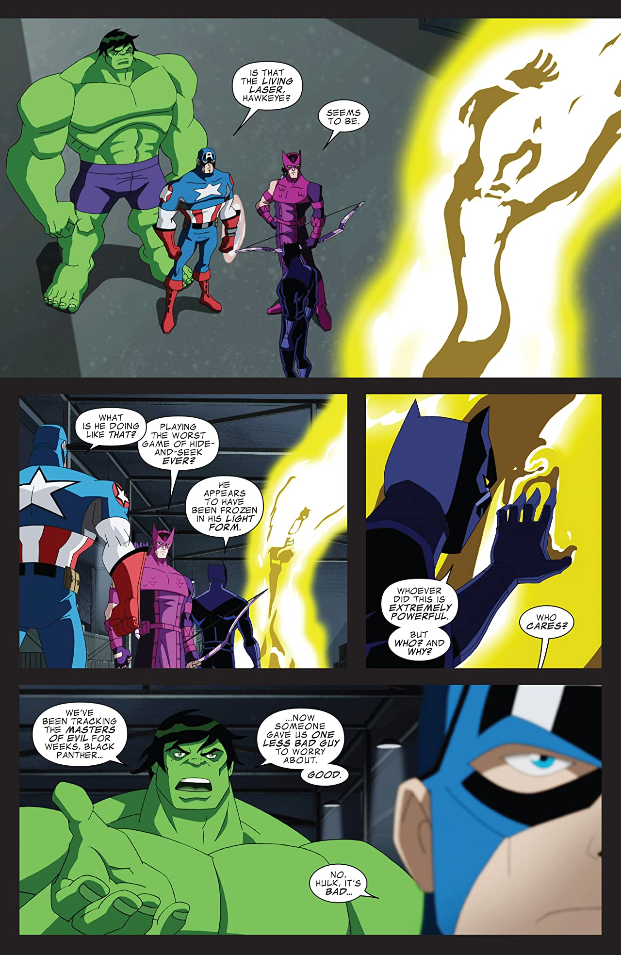 Marvel Universe Avengers: Earth's Mightiest Heroes (2012-2013) #15