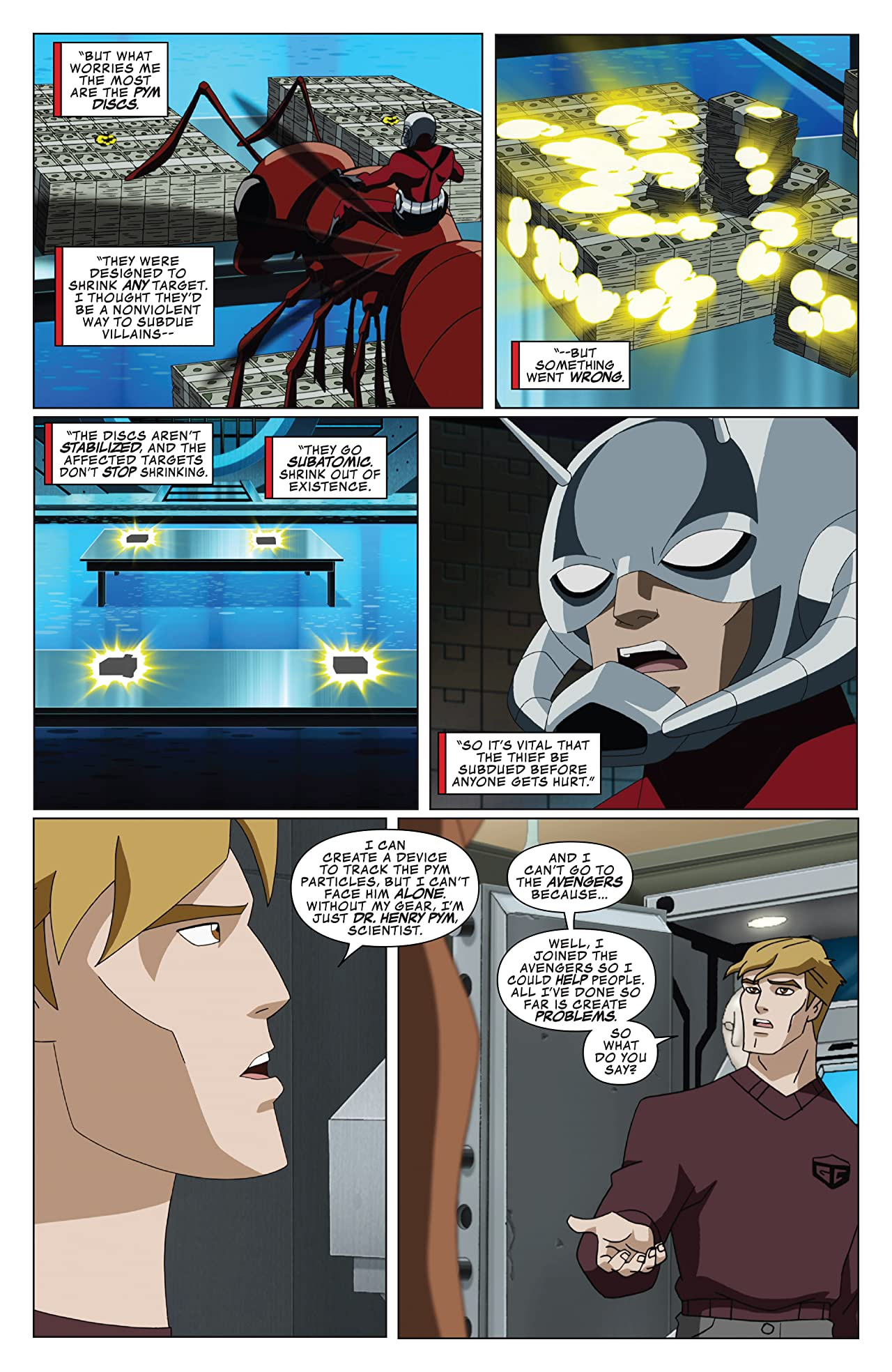 Marvel Universe Avengers: Earth's Mightiest Heroes (2012-2013) #17