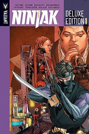 Ninjak Deluxe Edition Book 1