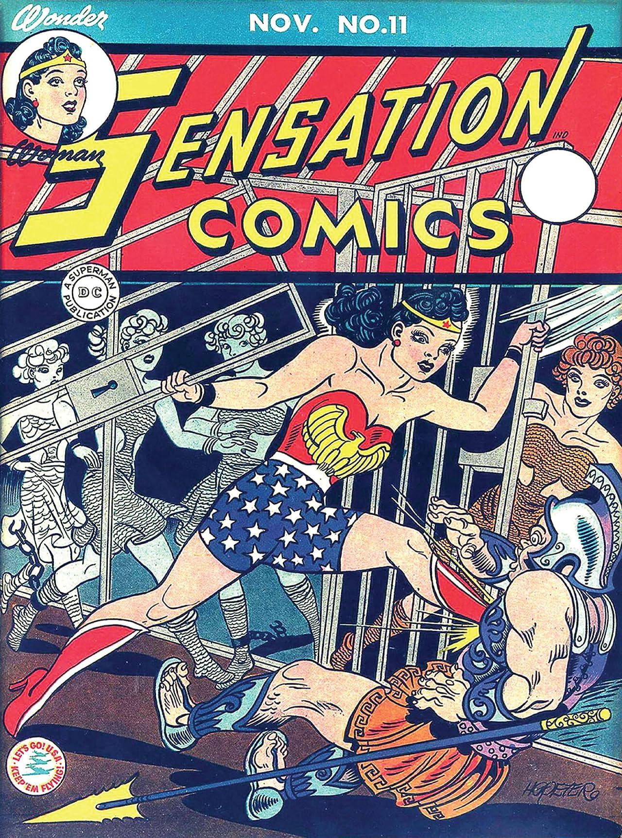 Sensation Comics (1942-1952) #11