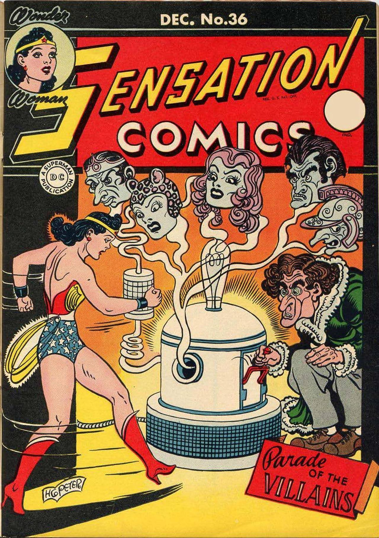 Sensation Comics (1942-1952) #36