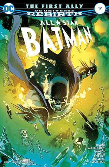 All-Star Batman (2016-2017) #12
