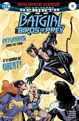 Batgirl and the Birds of Prey (2016-2018) #12
