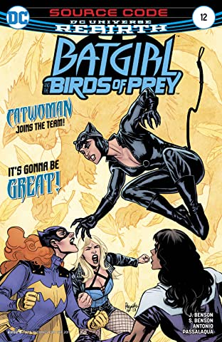 Batgirl and the Birds of Prey (2016-2018) No.12