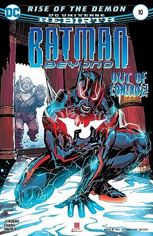 Batman Beyond (2016-) No.10