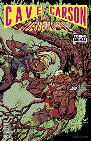Cave Carson Has a Cybernetic Eye (2016-) #10