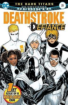 Deathstroke (2016-) #21