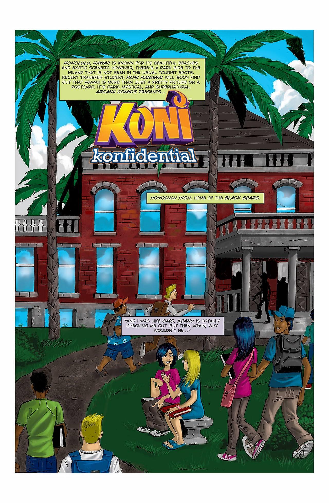 Koni Konfidential #1