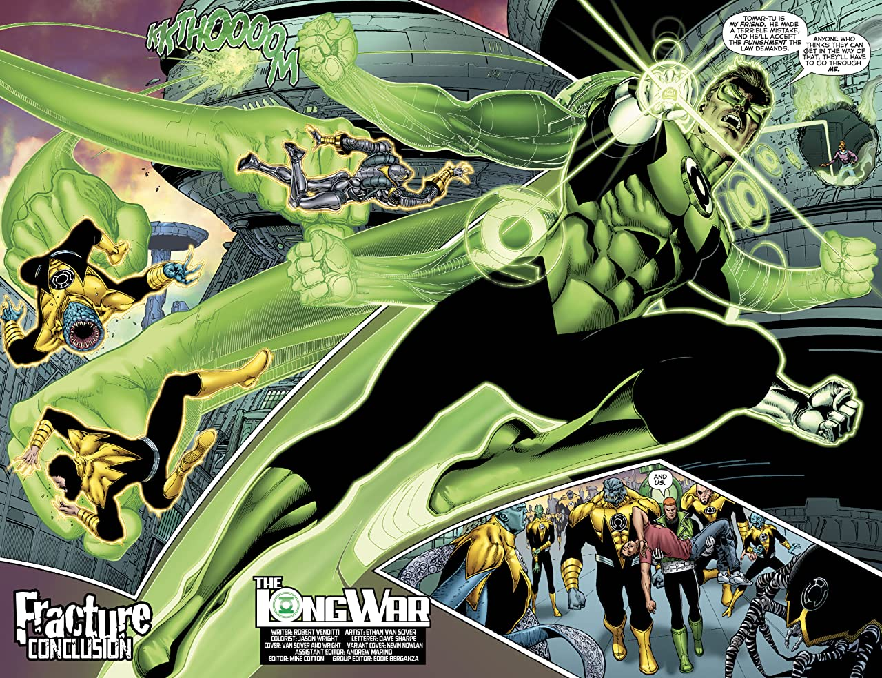 Hal Jordan and The Green Lantern Corps (2016-) #25